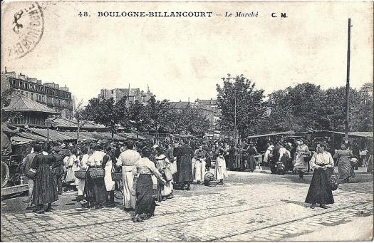 Photo 18 - vue du marché vers la rue Desfeux