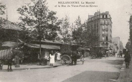 Photo 19 - vue du marché depuis la rue du Vieux-Pont-de-Sèvres