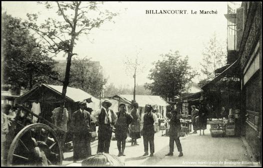 Photo 9 - vue du marché depuis la rue Desfeux