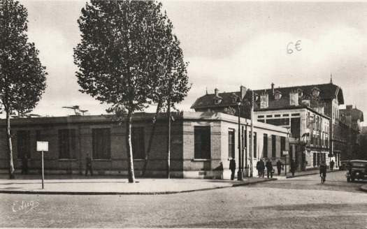 Hôpital Ambroise Paré vue de la route de Versailles