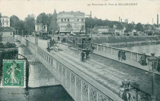Pont de Billancourt lignes 23 et 32