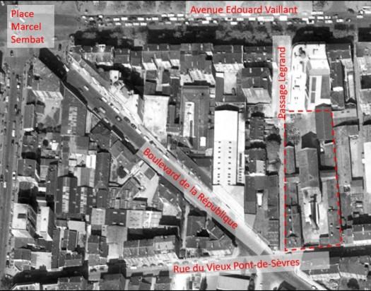 Plan Plassard 1960