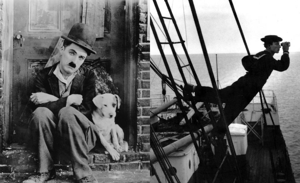 Chaplin & Buster Keaton