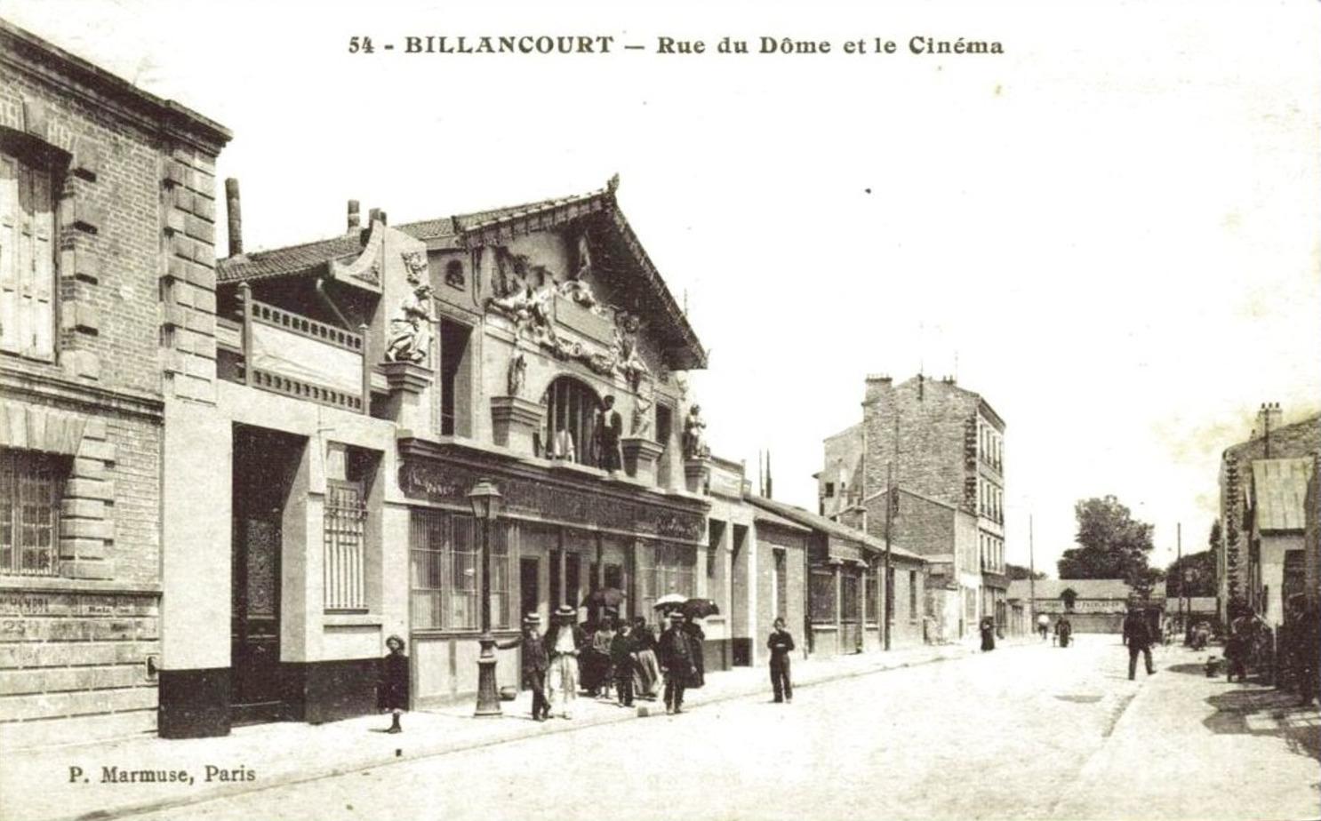 Rue du dôme Alhambra 1907