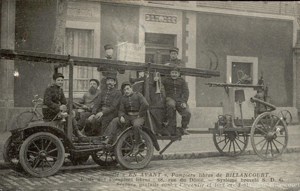 Pompiers libres de Billancourt