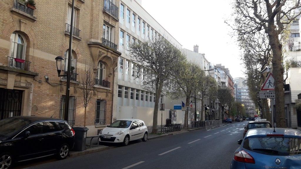 Ecole des Glacières, Rue de Clamart en 2020