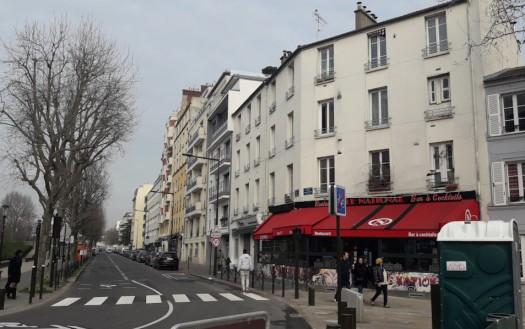 Rue de Meudon en 2019