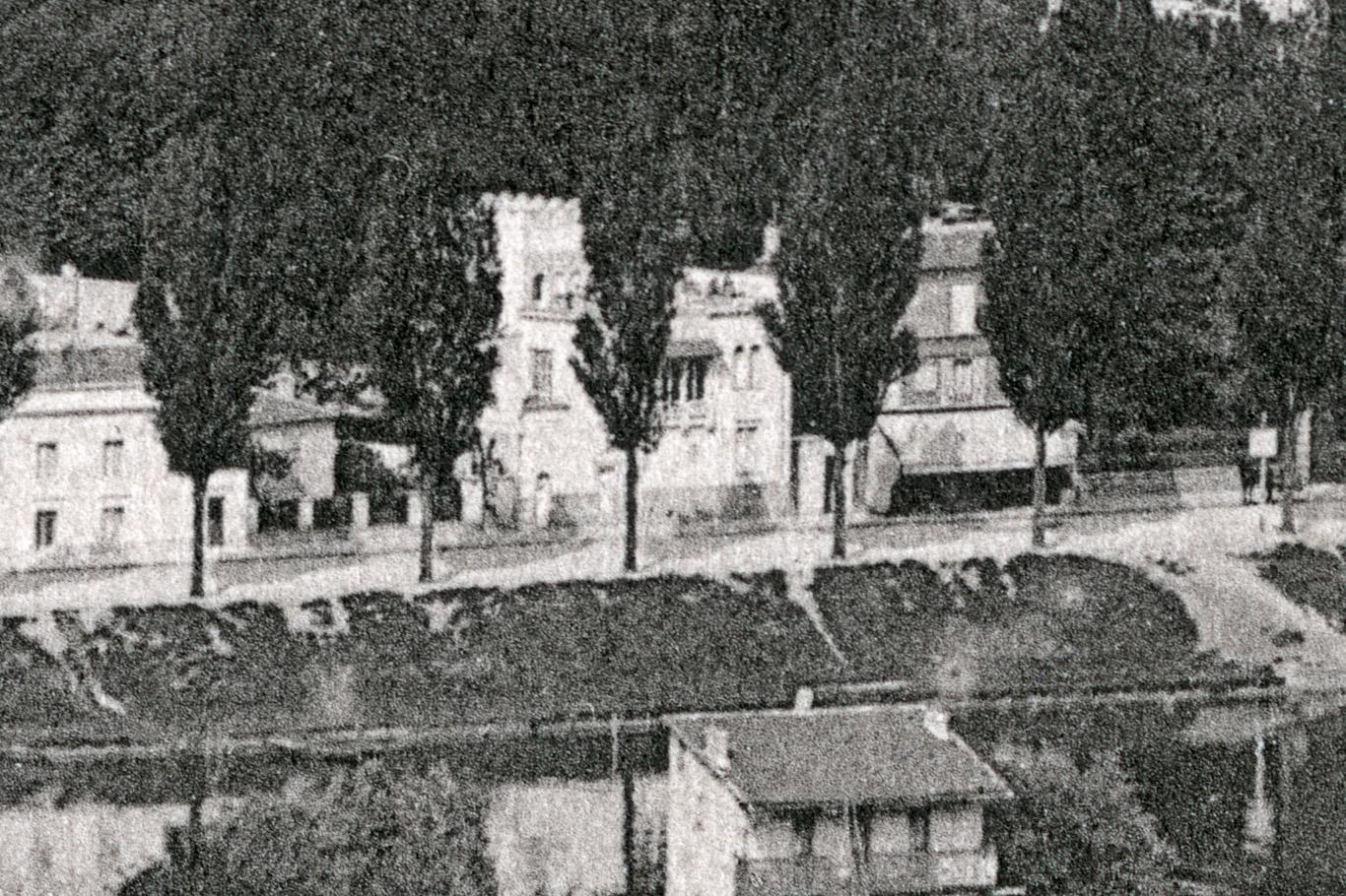 La Villa Mauresque du quai de Billancourt vers 1903