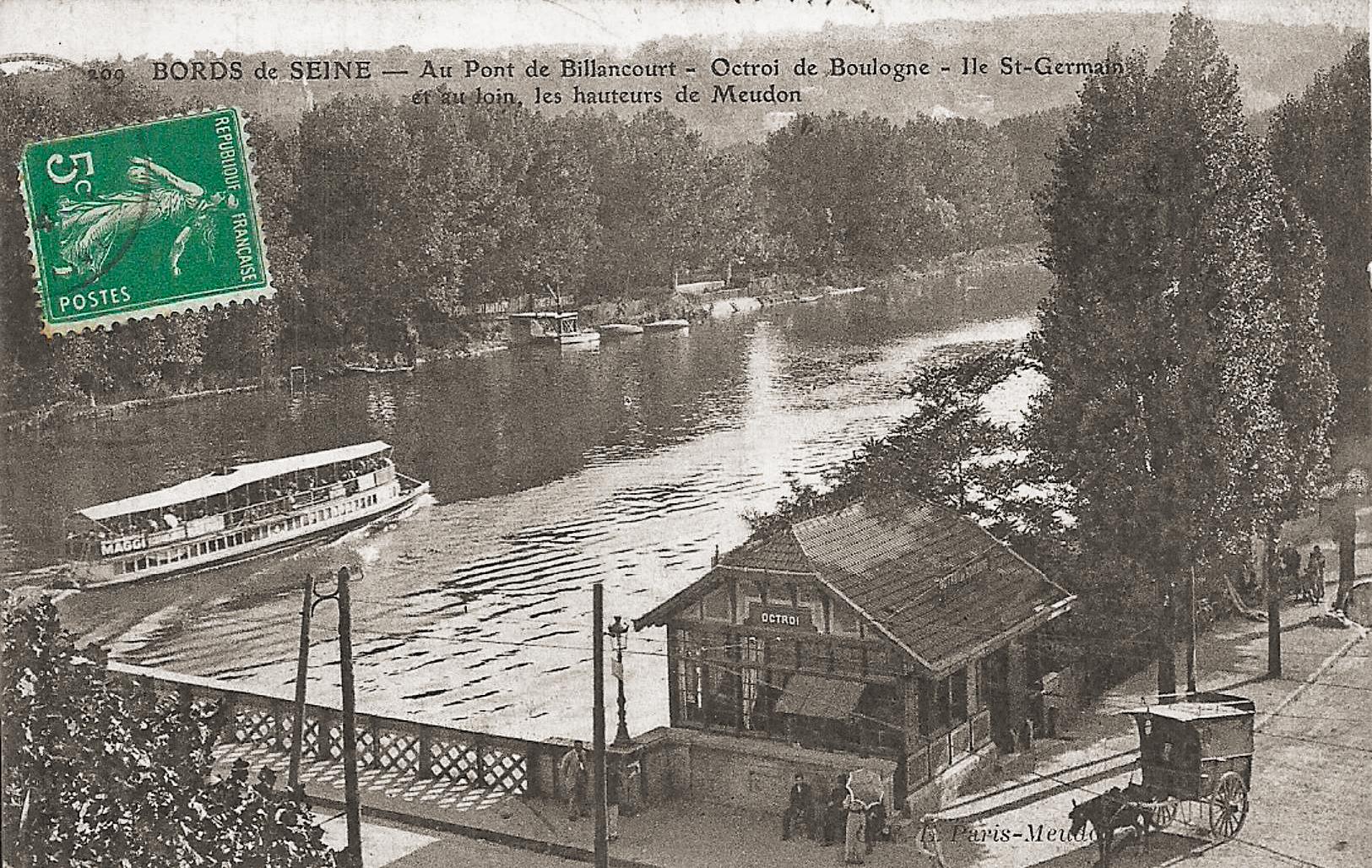 Pont de Billancourt octroi