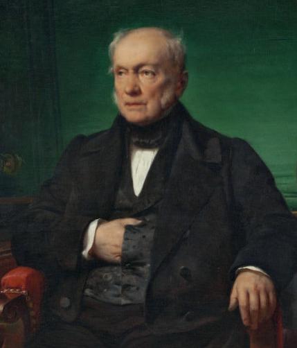 Portrait d'Auguste de Gourcuff par Horace Vernet