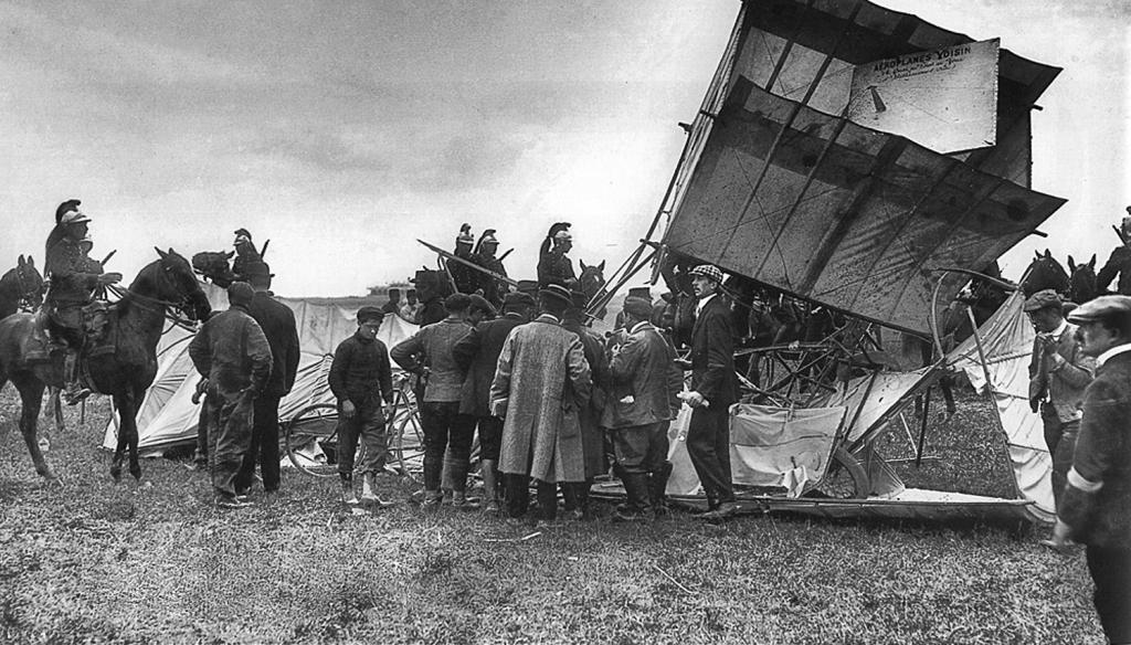 Raymonde de Laroche-Juillet 1910 accident de Reims