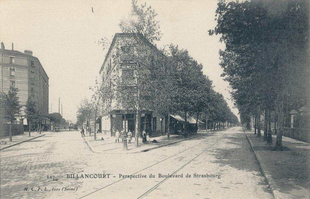 Rue de Clamart et boulevard Jean-Jaurès Place Solferino