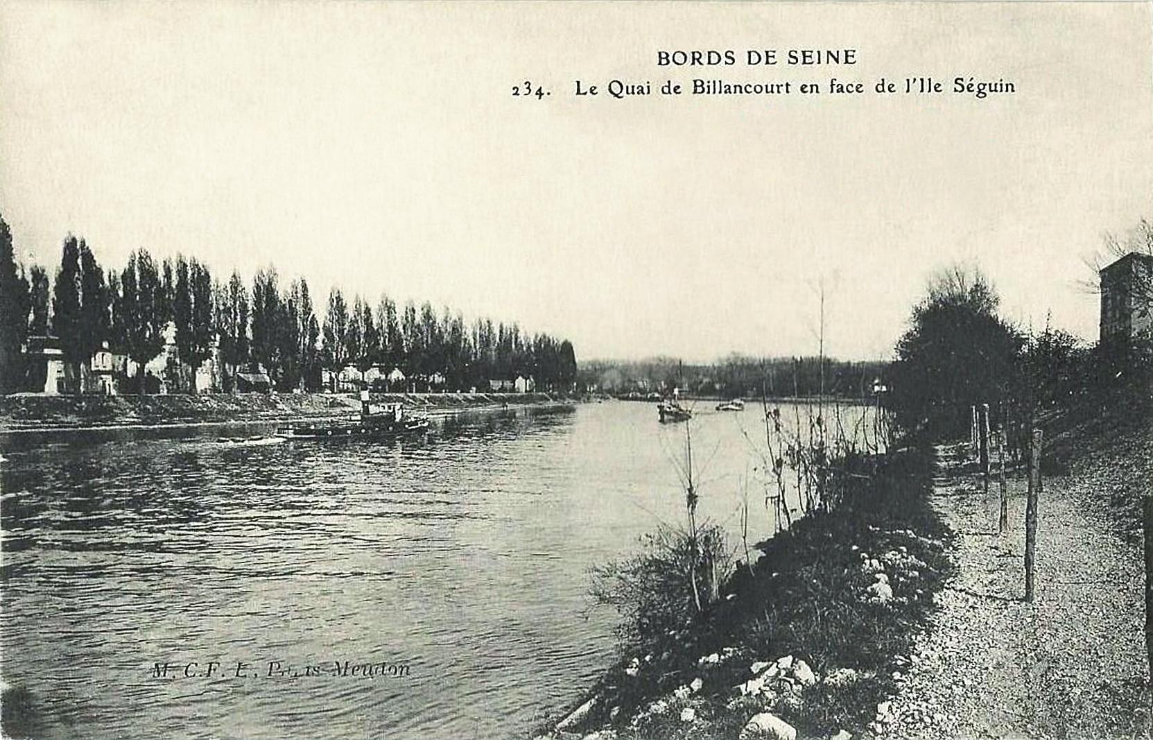 Ile Seguin, restaurant Sarreste-quai de Billancourt