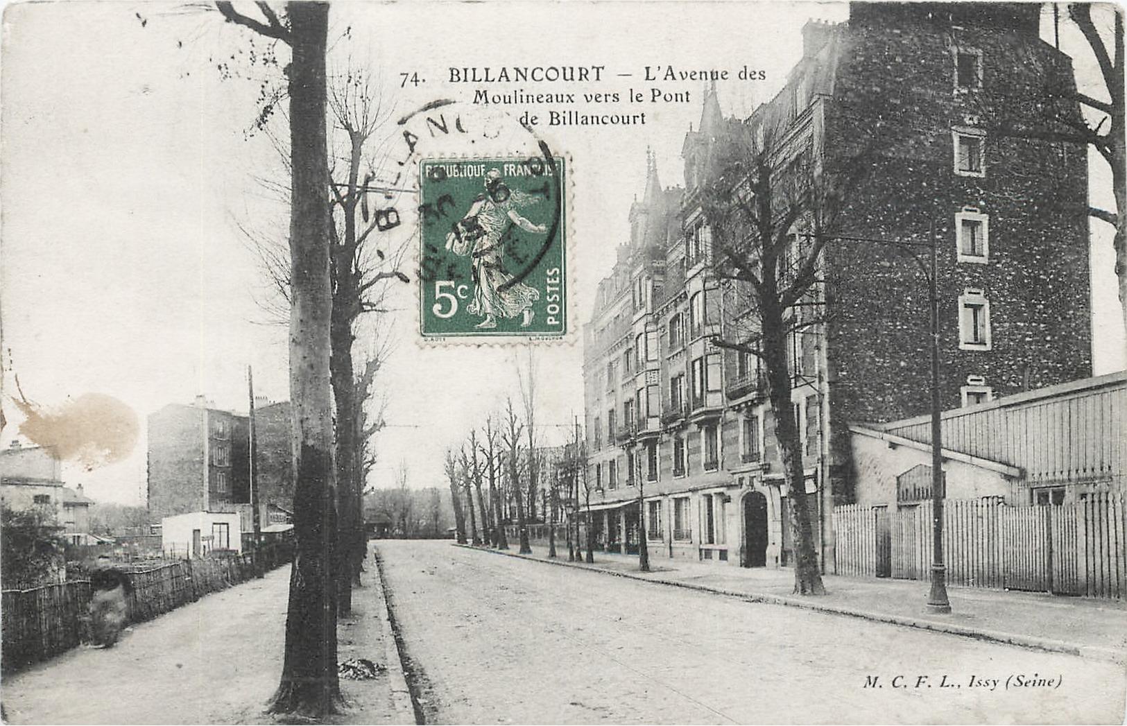 Avenue des Moulineaux Immeuble Salard