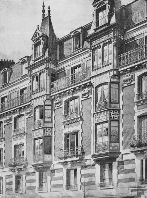avenue des Moulineaux Facade du bel immeuble