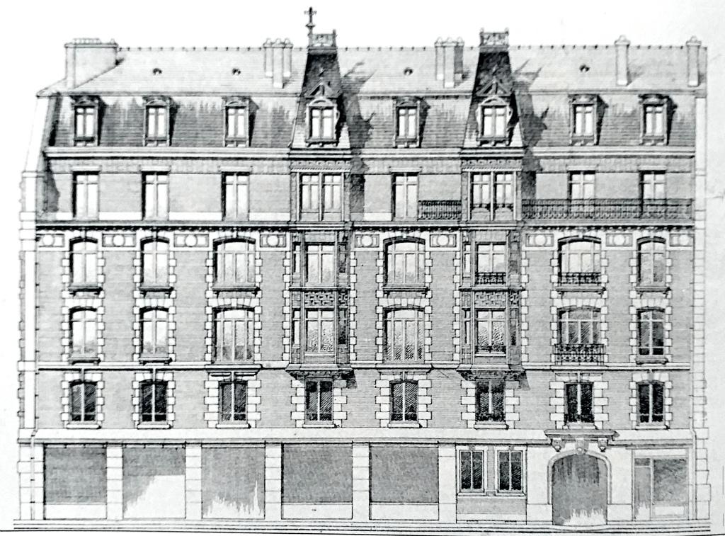 Immeuble Salard avenue des Moulineaux 1910