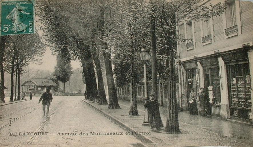 Avenue des Moulineaux Octroi immeuble
