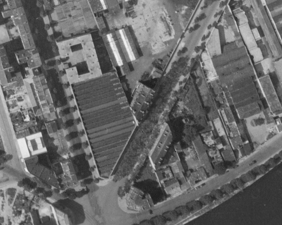 Bel immeuble de l'avenue Pierre Grenier en 1960.