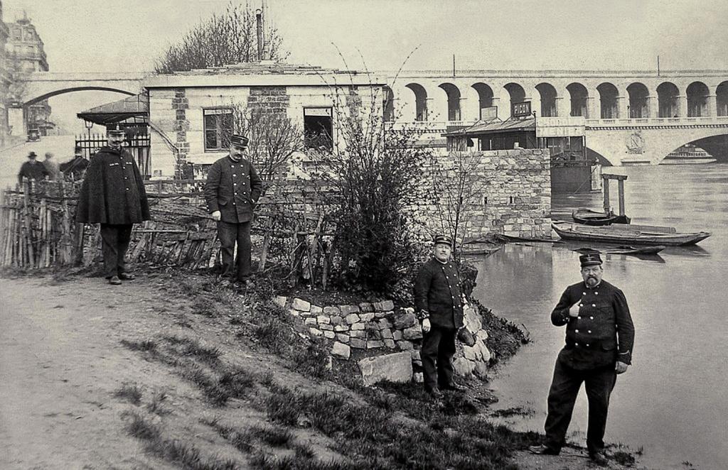 Porte de Billancourt employés de l'octroi