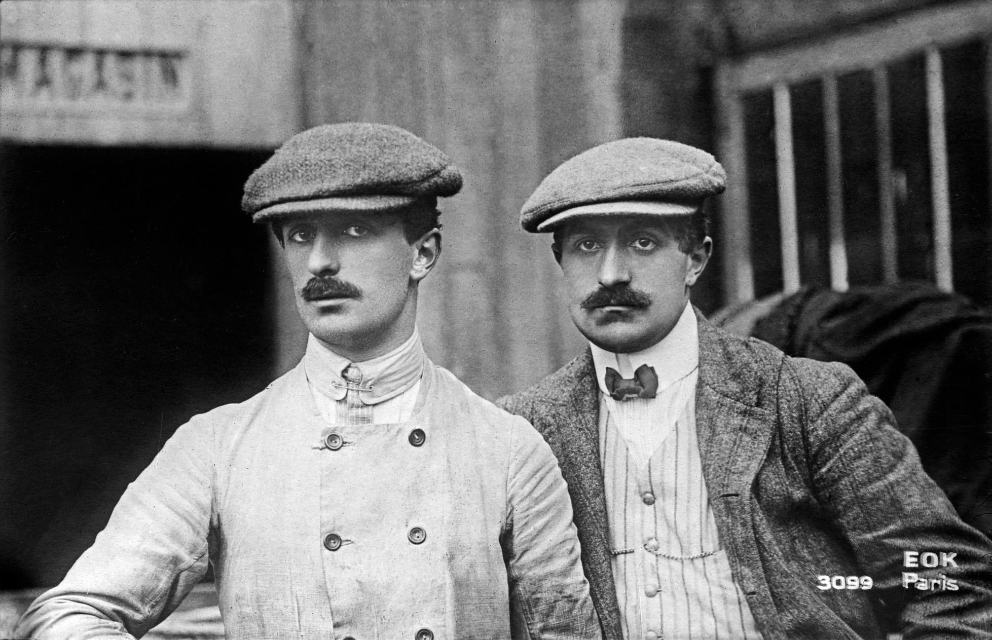 Gabriel et Charles Voisin-Rue de la Ferme-1906-BNF