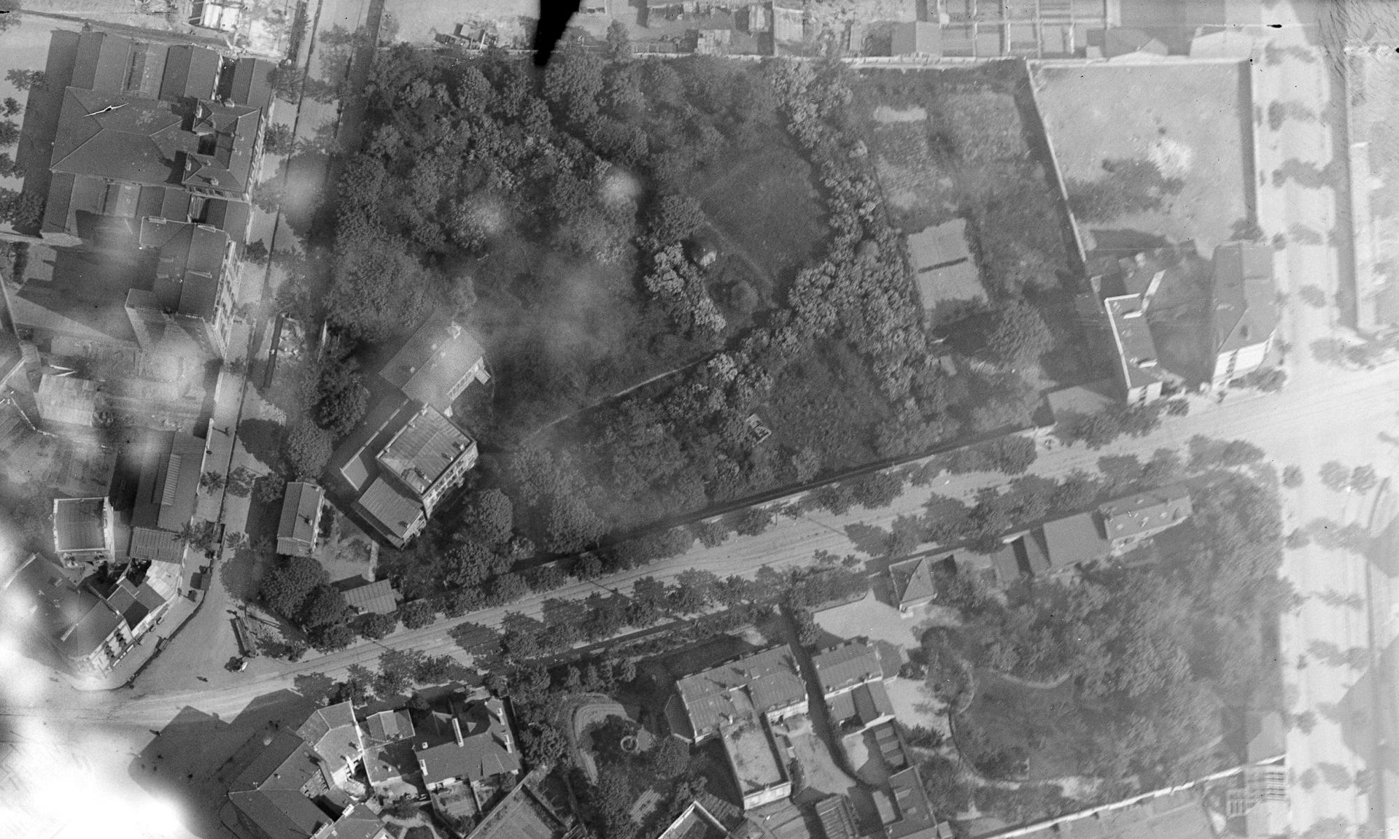 Photo aérienne couvent des dominicaines 1925
