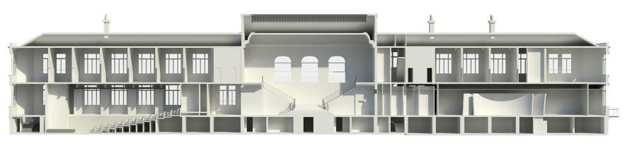 Projet SAA architectes pour le bâtiment Dreyfus