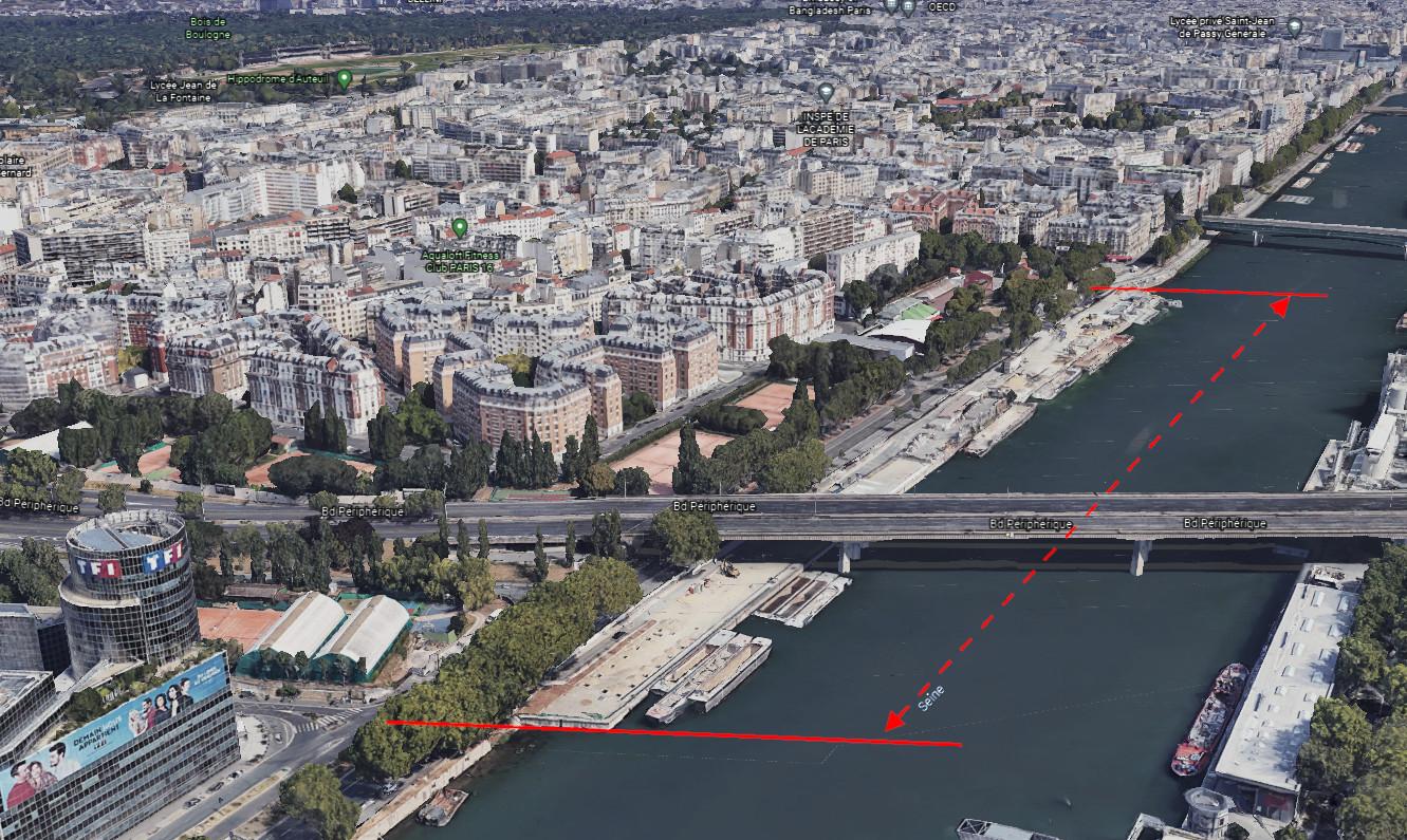 Bord de Seine 2021 les 500 mètres manquants