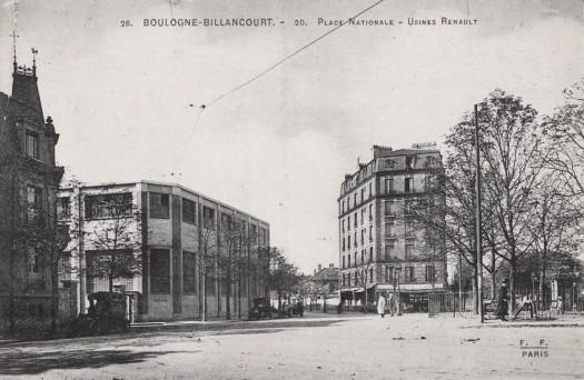 Place nationale Bican Brasserie Billancourt