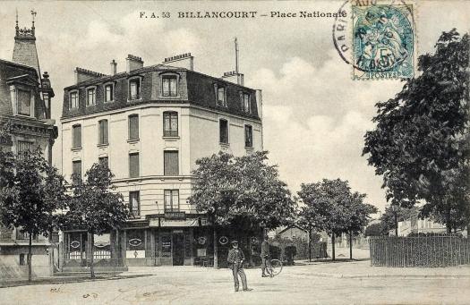 Place Nationale maisons Bican et Geiger 1905