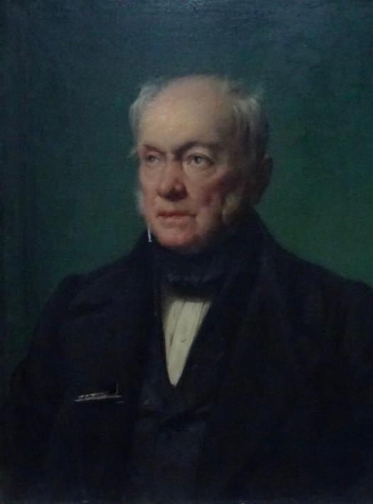 Esquisse tableau Gourcuff par Horace Vernet (archives familiales)