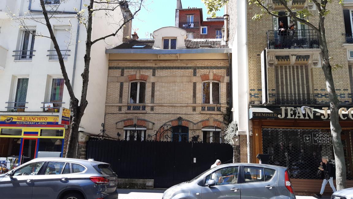Face 272 boulevard Jean Jaurès