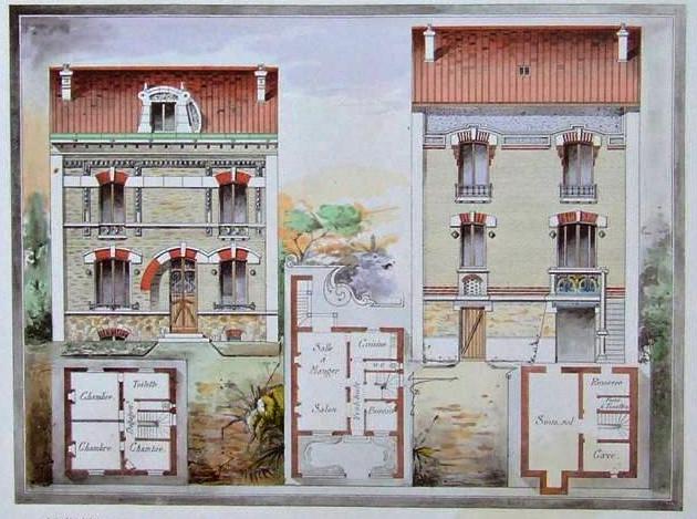 L'habitation pratique 1906 maison Dupont
