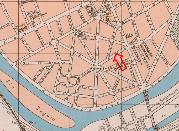 Plan église Saint Nicolas
