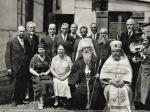Le métropolite (évêque) Euloge Georgievsky (au centre). source : boulogne-orthodoxe.fr