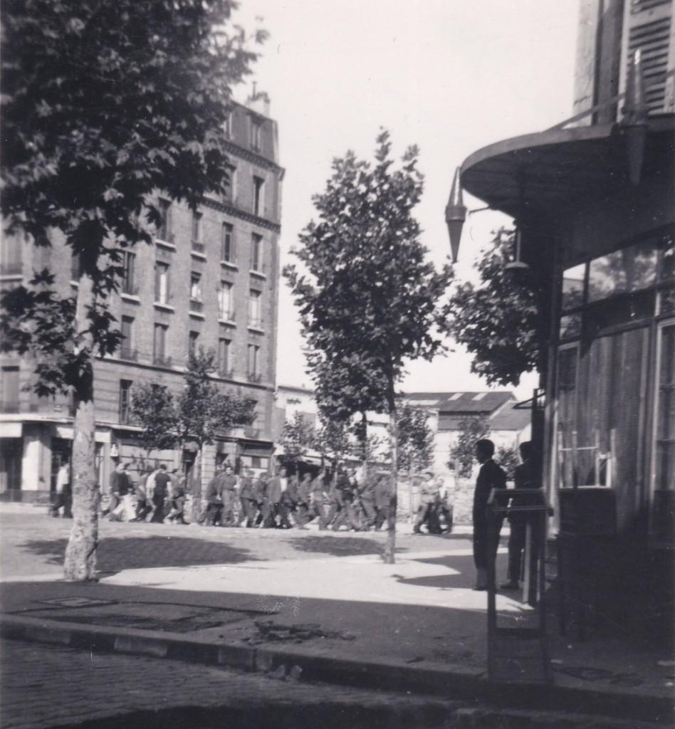 1944 25 aout prisonniers allemands place Nationale