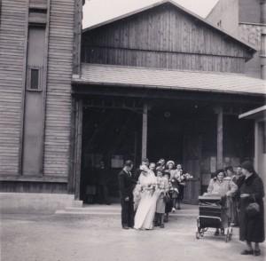 1948 29 avril Eglise Immaculée Conception mariage Emilia François.