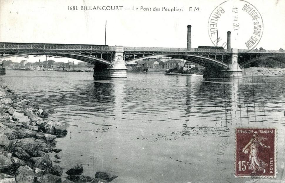Pont des peupliers Delcampe