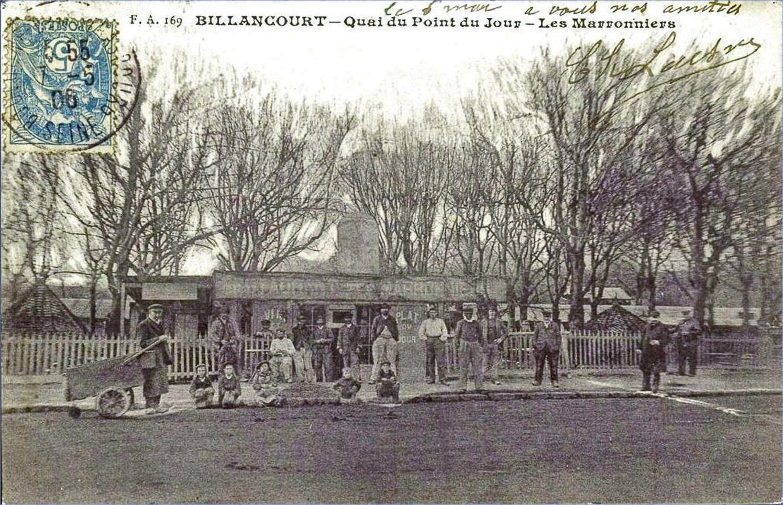 Billancourt-Quai du point du jour, 14-Les Marronniers