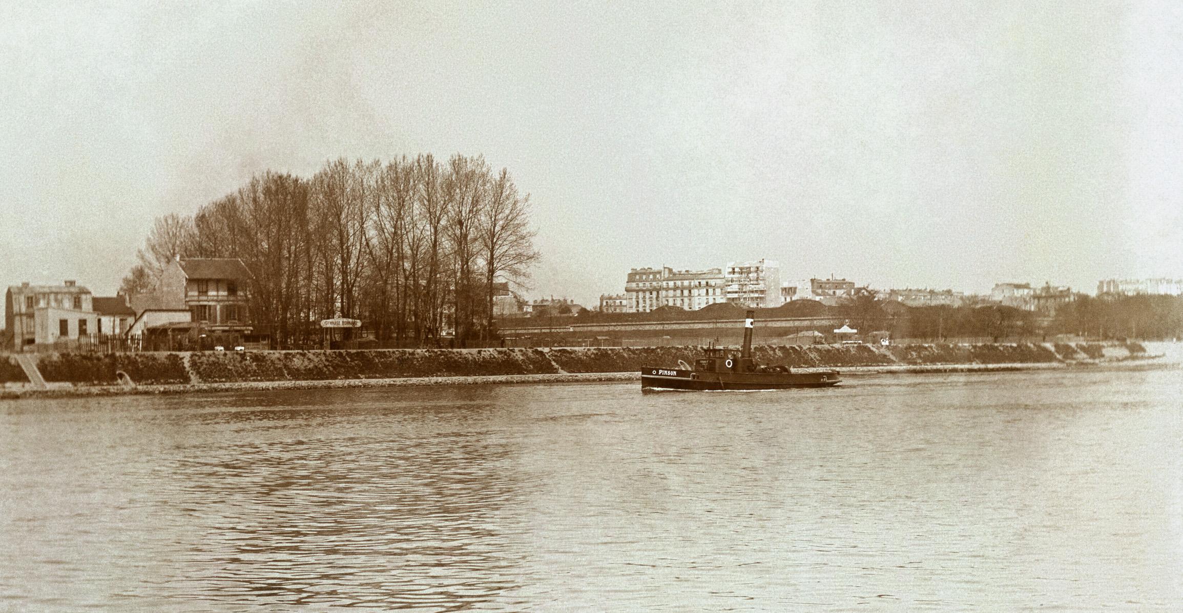 Billancourt-Quai du point du Jour-Gymnase Bonnaire-Vers 1900_JPL (1)