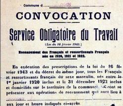 Convocation pour le STO